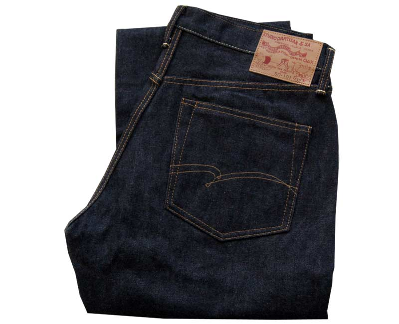 STUDIOD'ARTISANジーンズREGULARSUTRAIGHTDENIM(新ステッチ)