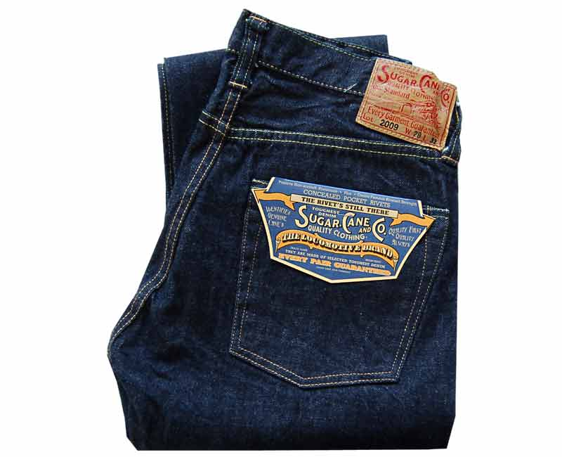 SUGARCANEジーンズSTANDARDDENIM1947TYPE-2