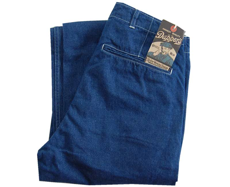 Dapper'sダッパーズStandardTrousers/COVERTDENIM(撚り杢デニム)【smtb-k】【kb】